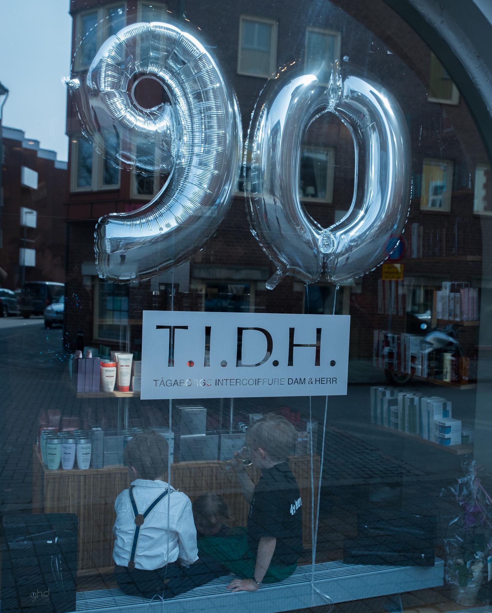 T.I.D.H 90 år